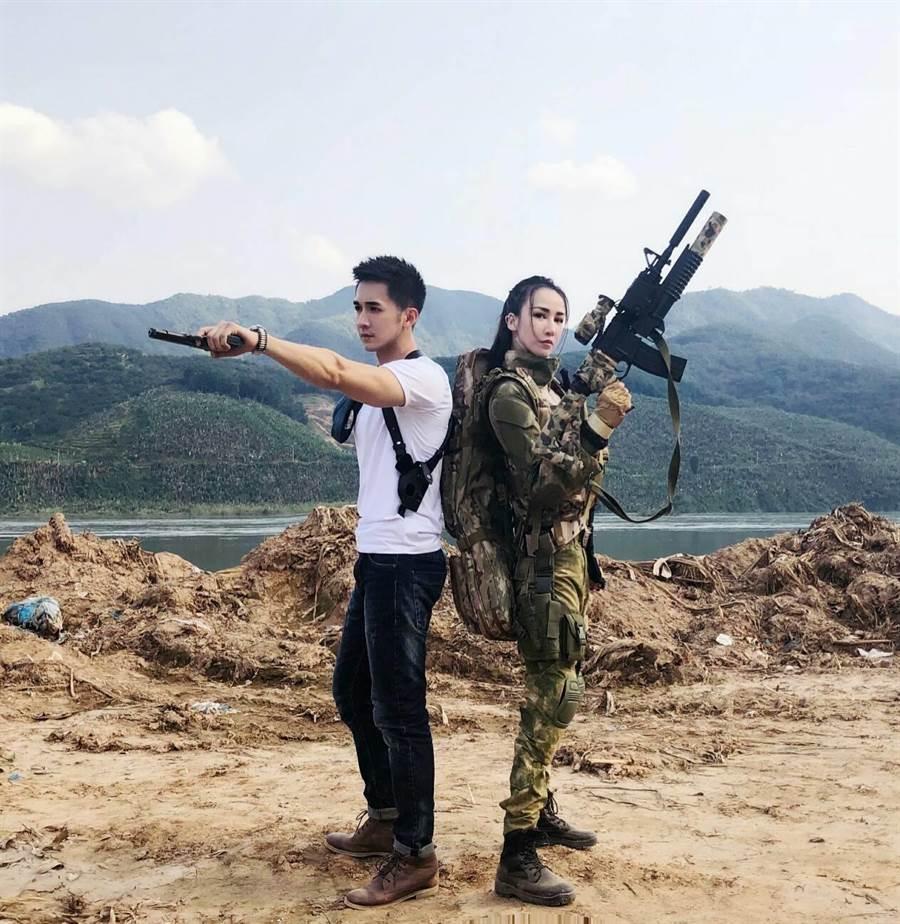 劉道玄認為槍戰題材是每個男演員都想演的題材之一。(圖/片商提供)