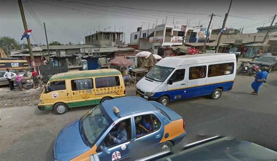 台灣娃娃車非洲出沒 內行人揭密(圖/ 翻攝自Google Maps街景圖)