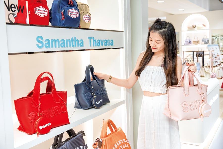 Samantha Thavasa 25周年復刻托特包。攝影石智中