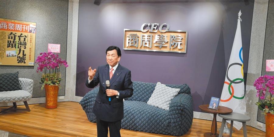國際奧會委員吳經國。(記者林永富攝)