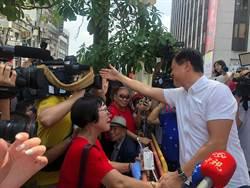 韓粉戰鼓迎韓國瑜 也為周張歡呼