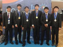 國際物奧2金、3銀  國際排名第五