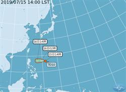 準颱風丹娜絲「路徑往台灣」進逼 最快明晚發海警