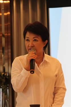 與青年企業家座談  盧秀燕:力拼公幼公托倍增計畫