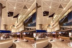 影》台灣門面GG!桃機第二航廈天花板砸落 旅客傻眼