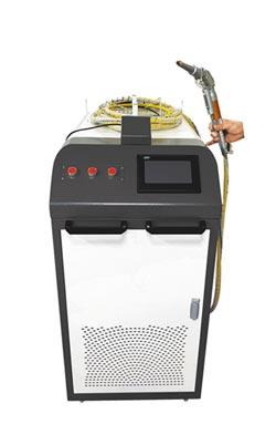燦晶手持式雷射金屬焊接 靈活性強 新手可勝任