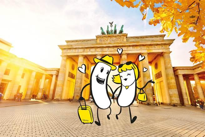 布蘭登堡門是柏林的象徵。圖:業者提供