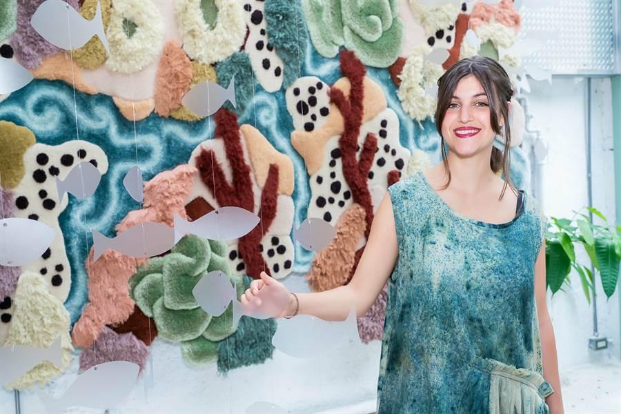 藝術家Vanessa Barragão從小在海邊長大,與海洋的連結成為她源源不絕的創作靈感來源。(圖/品牌提供)