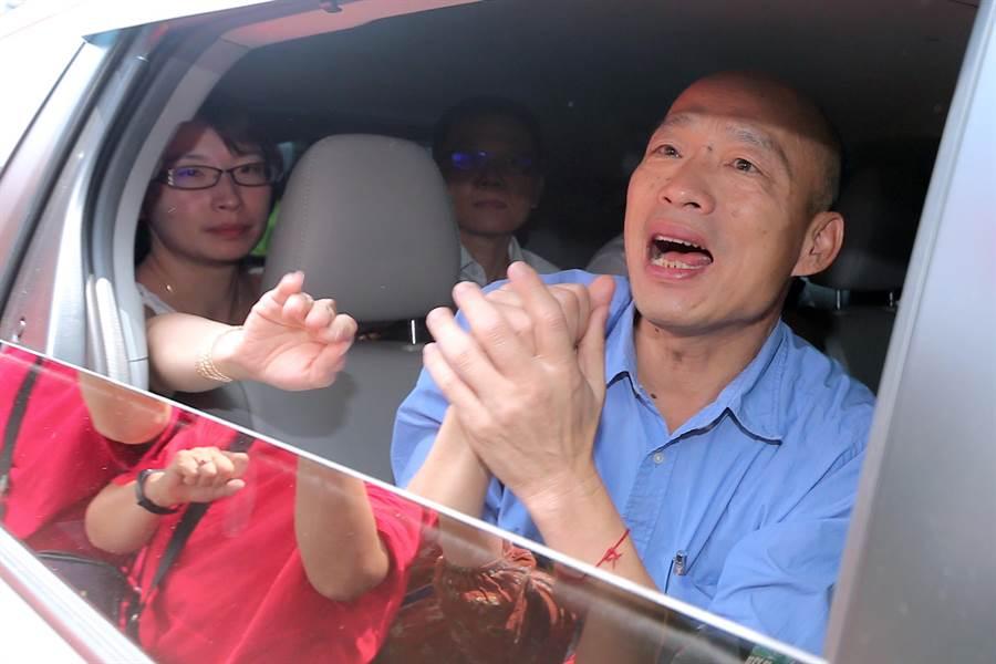 高雄市長韓國瑜。(資料照,黃世麒攝)