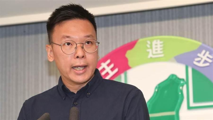太陽花學運領袖林飛帆(見圖)接任民進黨副祕書長。(劉宗龍攝)