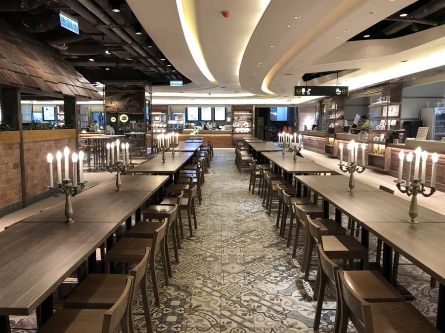 京站10年來最大規模改裝 獨家品牌泰國船麵、薄脆餃子專賣店開幕。(京站提供)