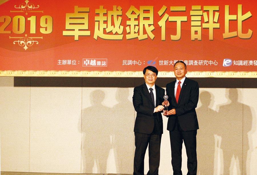 永豐銀獲最佳綠色金融貢獻獎。圖/公司提供
