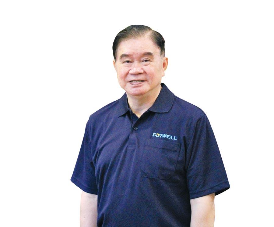 富偉集團總裁蕭文龍。圖/陳仁義