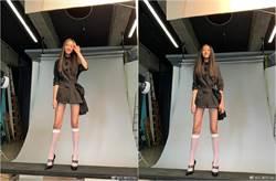 任達華14歲女兒長腿驚人 絕美比例名模媽狂讚:真棒