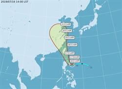 輕颱丹娜絲下午生成 恐直接影響台灣