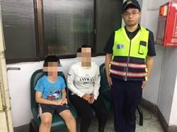 男童半夜借廁所走失 中市熱心警幫忙找到家長
