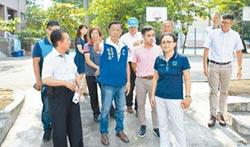 林明溱實勘延和國中 允修建操場