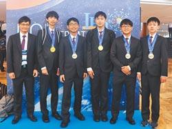 國際物奧奪2金3銀 排名第5