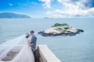 馬祖「方塊海」媲美法國美景  每對新人補助1.2萬拍婚紗