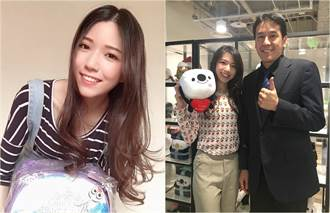 周錫瑋的正妹助選員「虎妹」 讓帥大叔黃暐瀚微笑了
