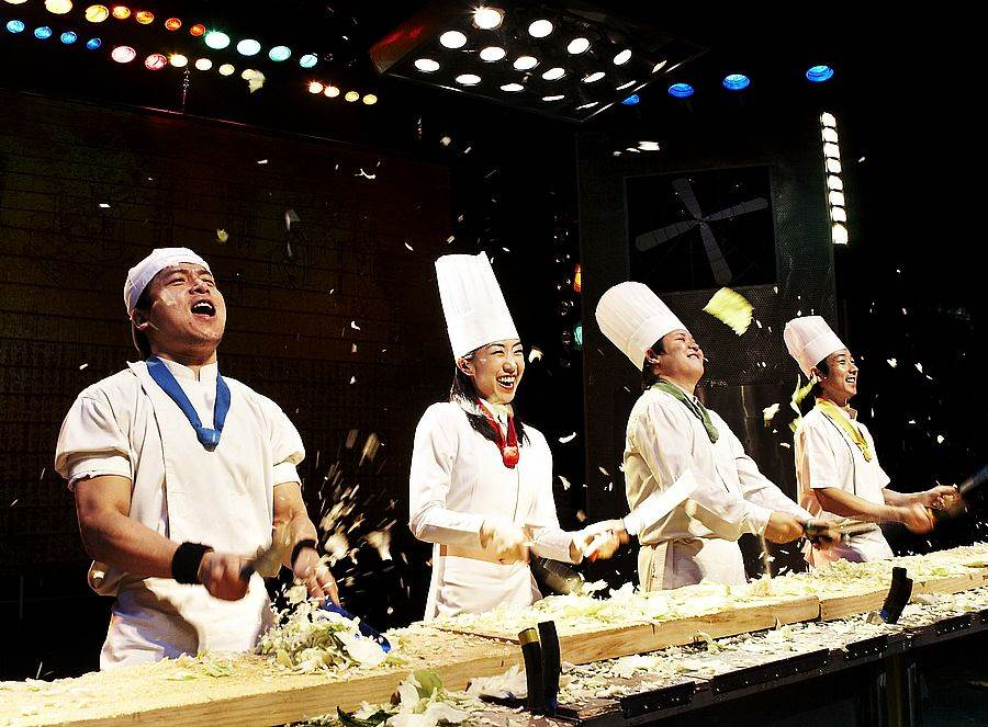 世界知名的韓國《Nanta亂打秀》 。(圖取自活動官網)