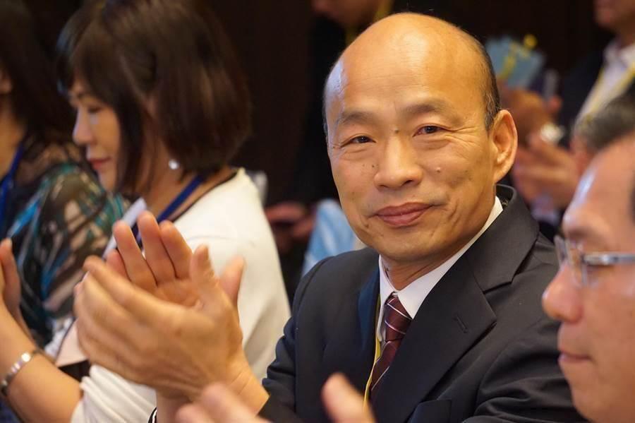 高雄市长韩国瑜赢得国民党总统民调初选。(本报资料照)