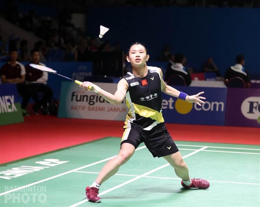 戴資穎在印尼羽球公開賽女單8強賽將遭遇泰國名將依瑟儂,此役將是球后保衛。(Badminton Photo提供/資料照)