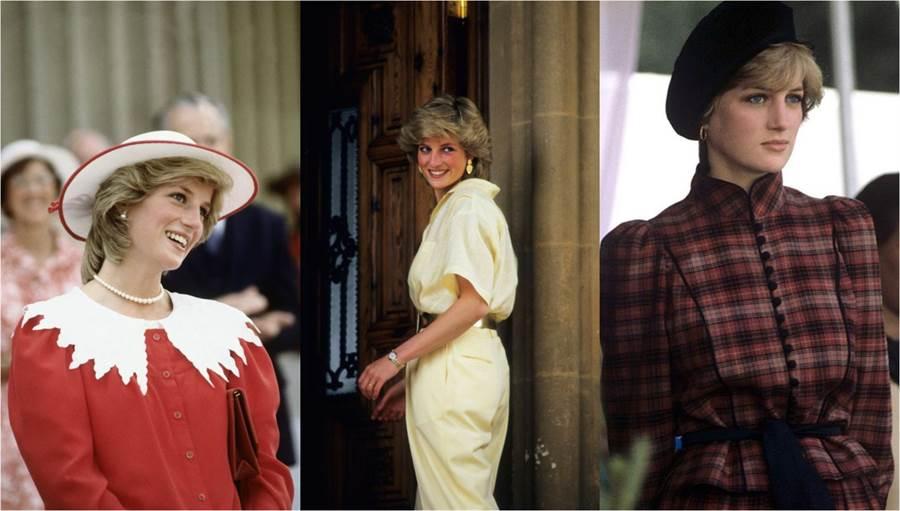 黛安娜王妃是許多人心中的時尚指標。(圖/Pinterest)