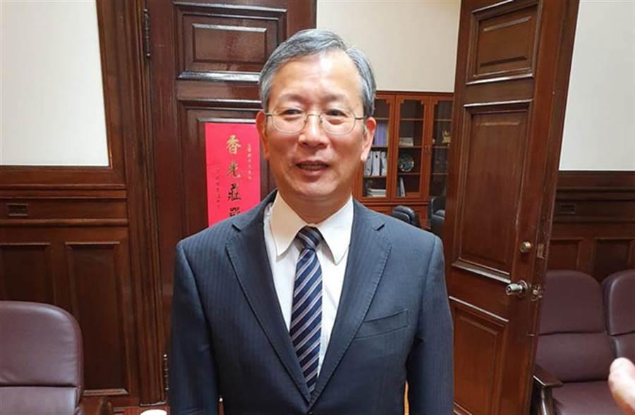 司法院祕書長呂太郎(林偉信攝)