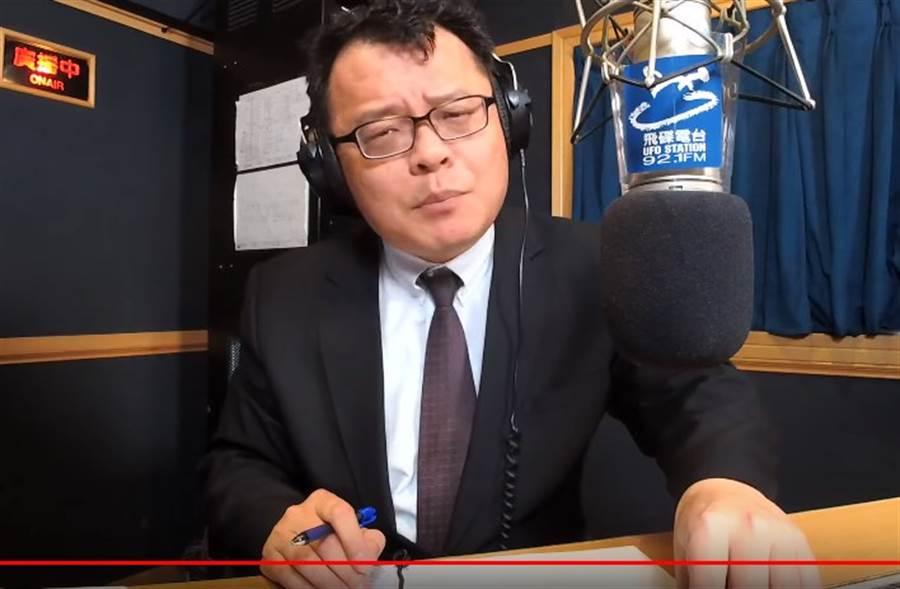 為何黑韓節目不斷?陳揮文揭電視台殘酷真相。(取自飛碟聯播網YouTube)