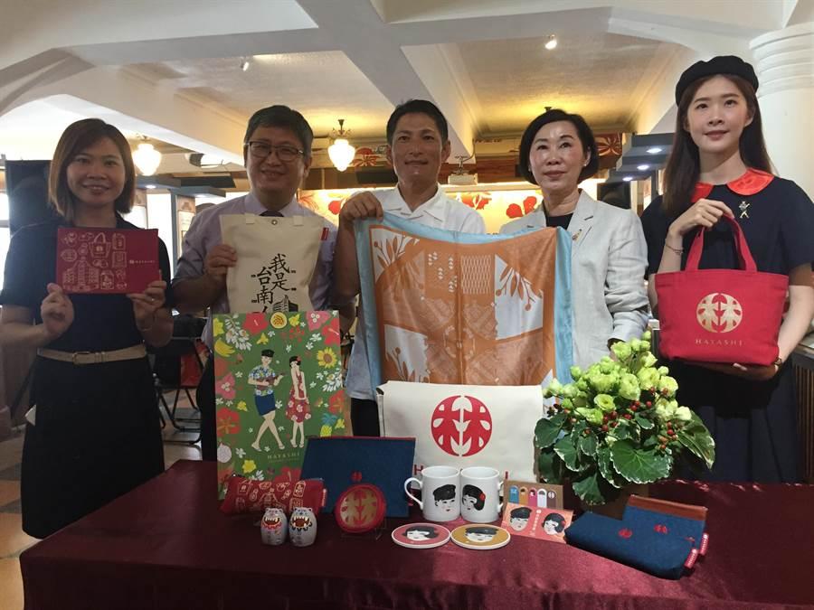台南林百货带着台南好物前进日本冲绳。(曹婷婷摄)