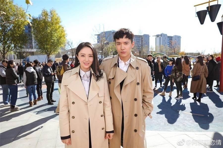 高雲翔、董璇已離婚。(圖/翻攝自微博)