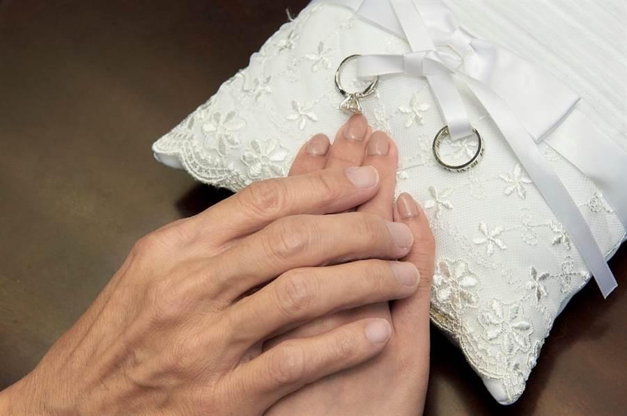 林立洋與Erin正式登記結婚。(林立洋提供)