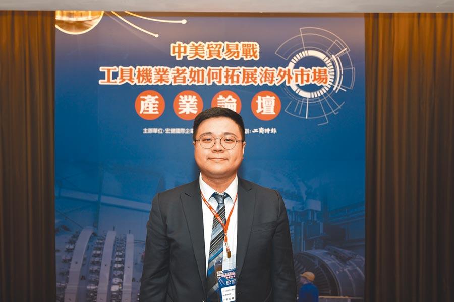 宏健公司資深業務副總經理郭哲睿     攝影:陳芳永