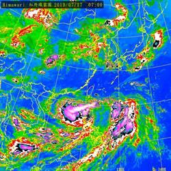 不斷更新》丹娜絲直撲台灣!11點半發陸警 降雨熱區出爐