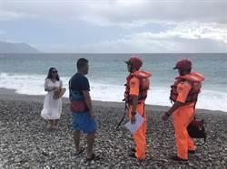 丹娜絲海警發布 花蓮臨海景點拉起封鎖線