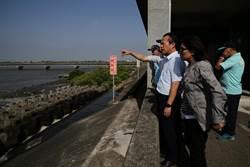 颱風逼近 翁章梁17日視察嘉義東石最大抽水站