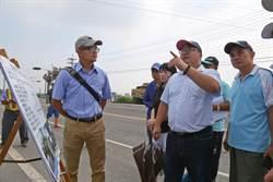 蔡易餘颱風前視察44億嘉義沿海治水工程