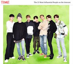《TIME》25大線上影響人物 BTS連三年入榜