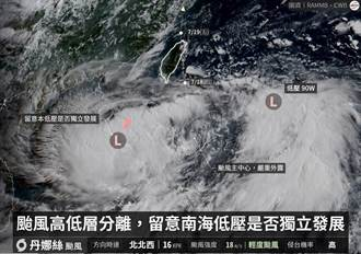 恐怖喔 丹娜絲颱風最複雜的劇本發生了