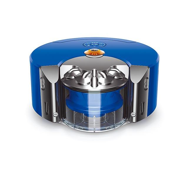 Dyson 360 Heurist智能吸塵機器人,3萬2900元,即日起至8月8日開放預購,8月9日正式上市。(Dyson提供)