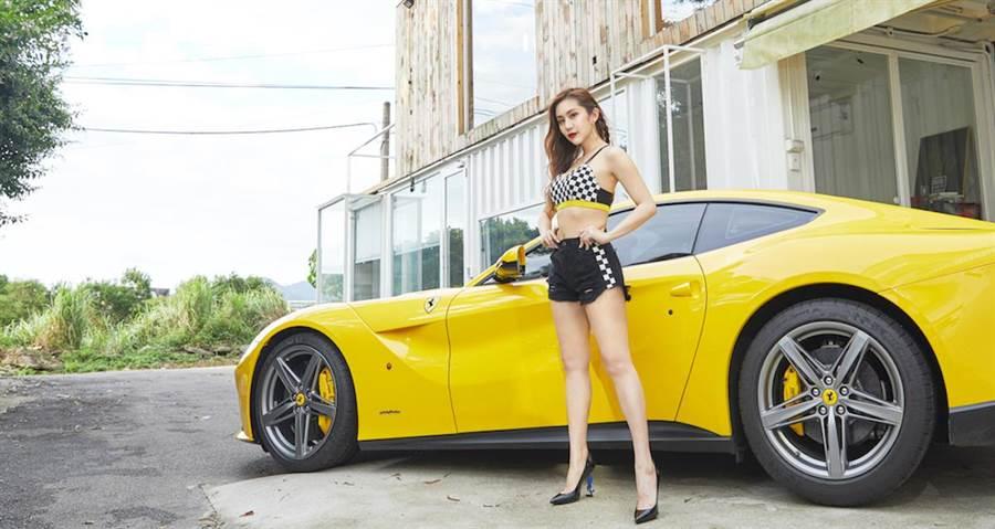 王宇婕瘦身成功。曲易提供