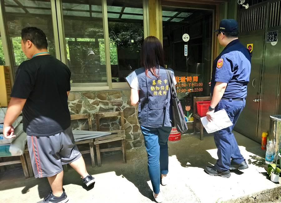 县市政府与警察共同查缉贩售商家。