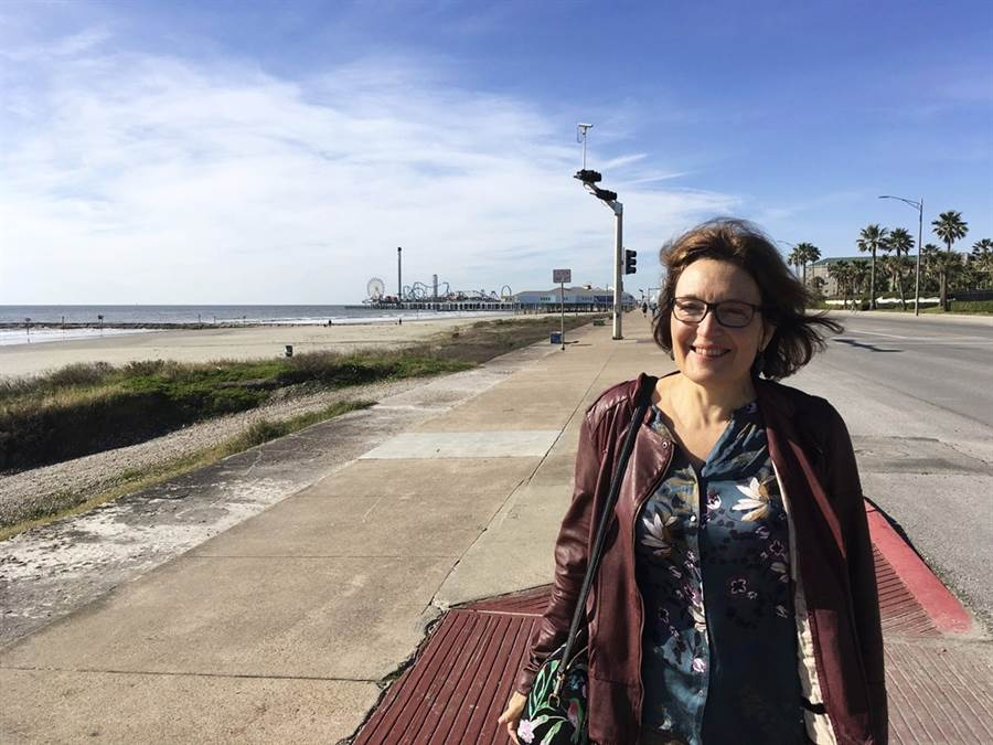 不幸遇害的美國女科學家伊頓(Suzanne Eaton)。(圖/美聯社)