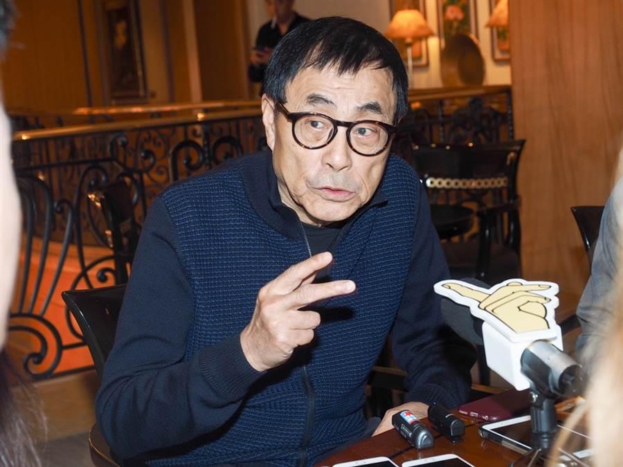劉家昌欣慰韓國瑜從國民黨總統初選勝出。(圖/中時資料照片)