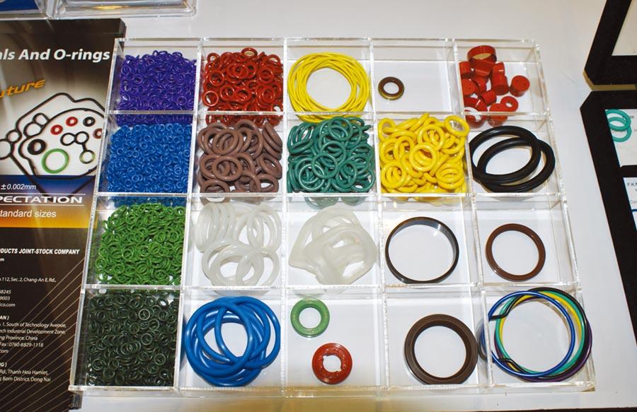 圖為台灣優力膠業公司製造的優質產品。圖/業者提供