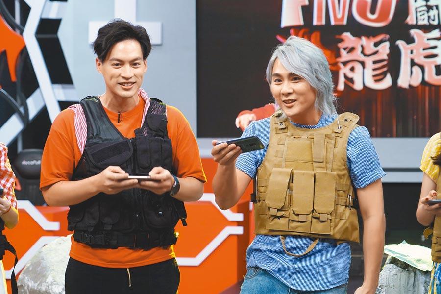 王仁甫昨主持《FIVE!龍虎鬪》節目。