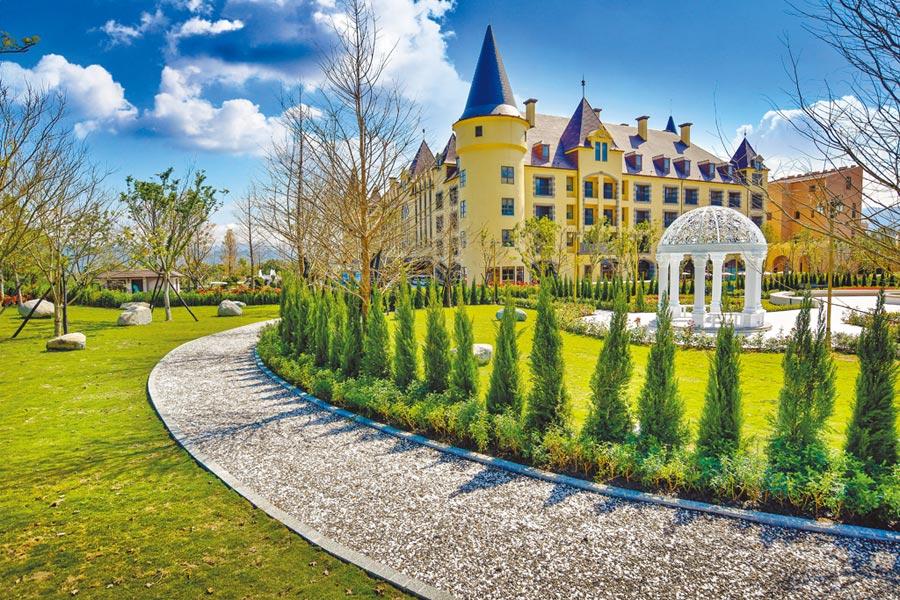 瑞穗春天國際觀光酒店的歐式設計風格,深受旅人喜愛。(瑞穗春天國際觀光酒店提供)