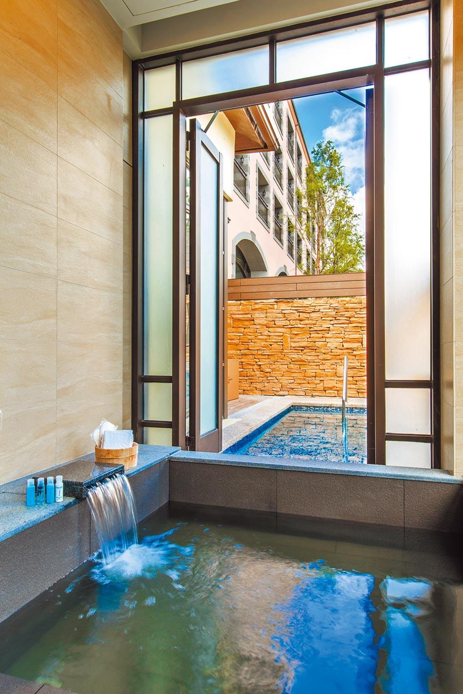 格蘭別墅的設計雅致,入住其中相當愉悅。(瑞穗春天國際觀光酒店提供)