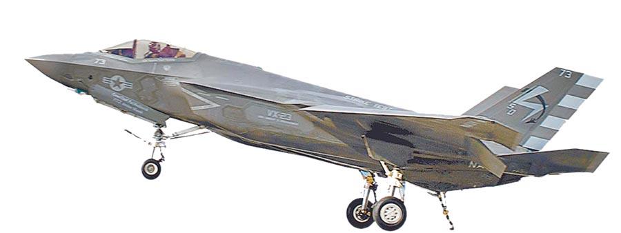 美軍F-35戰機。(取自美國海軍官網)